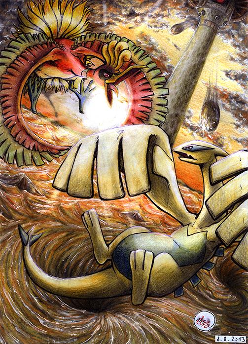 Pokémon-Zeichnung: This War is Ours