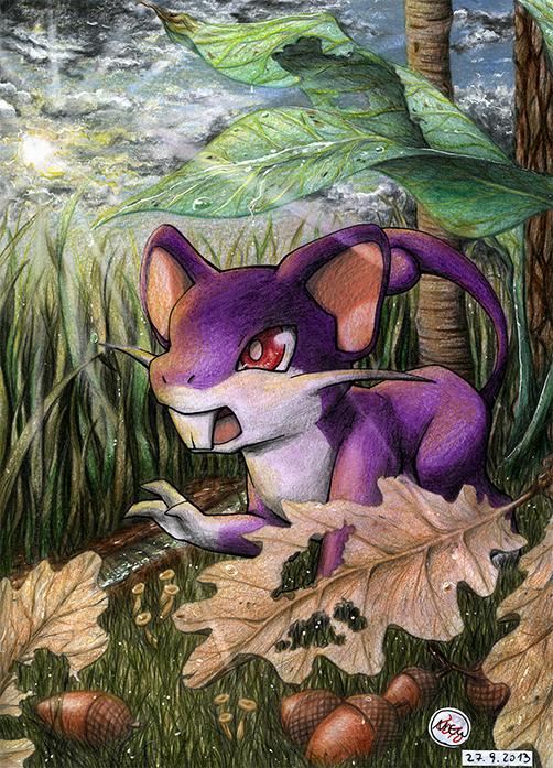 Pokémon-Zeichnung: Live Before You Die