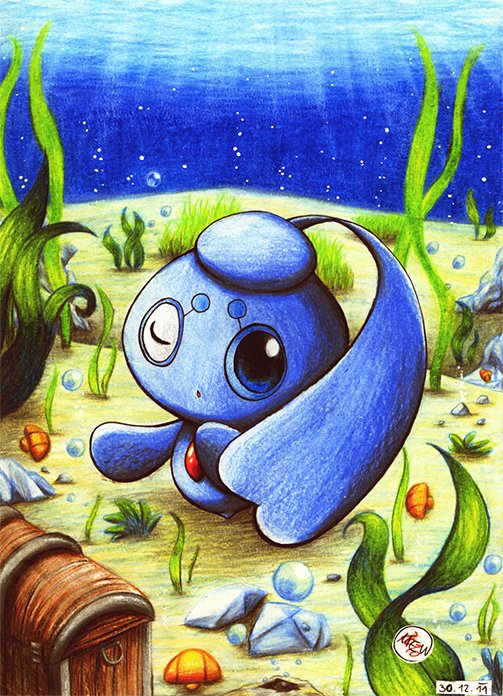 Pokémon-Zeichnung: Deepsea Mystery
