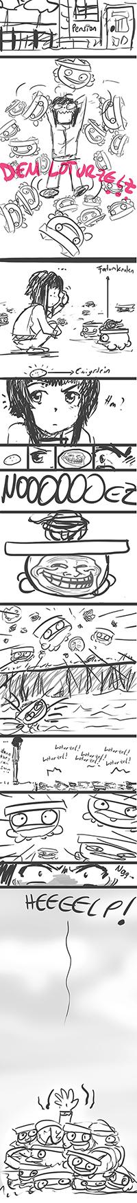 Pokémon-Zeichnung: Probleme eines Züchters...