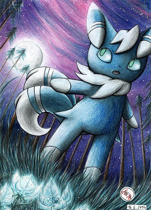 Pokémon-Zeichnung: Mystic Other World