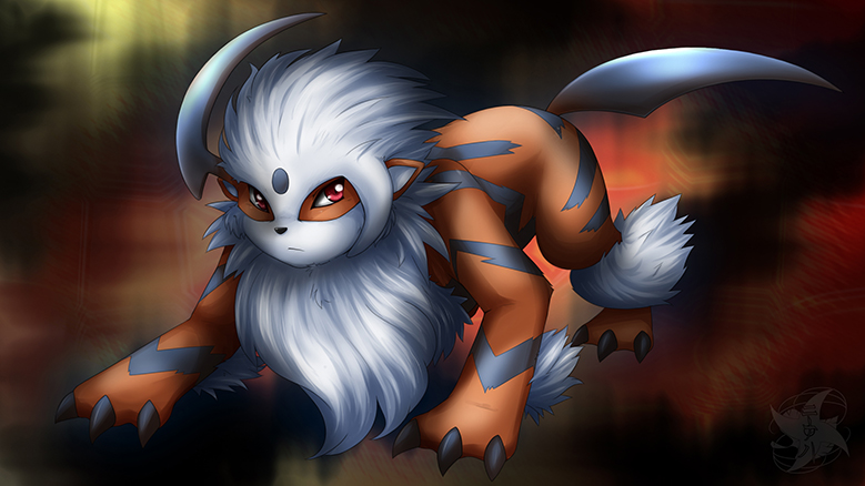 Pokémon-Zeichnung: Arcanol