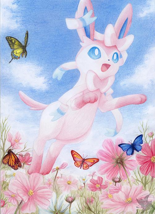 Pokémon-Zeichnung: Like A Dream