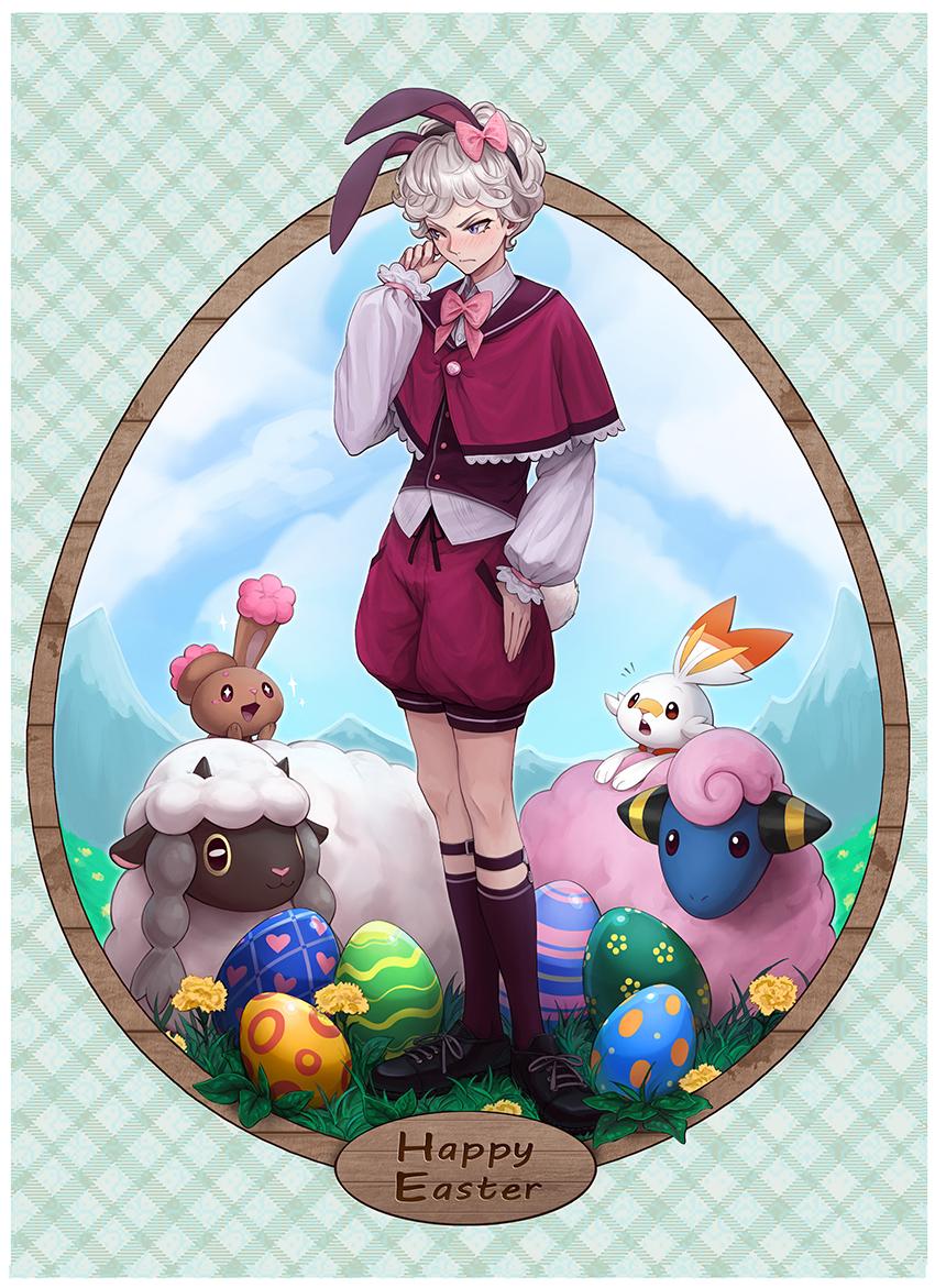 Pokémon-Zeichnung: Frohe Ostern
