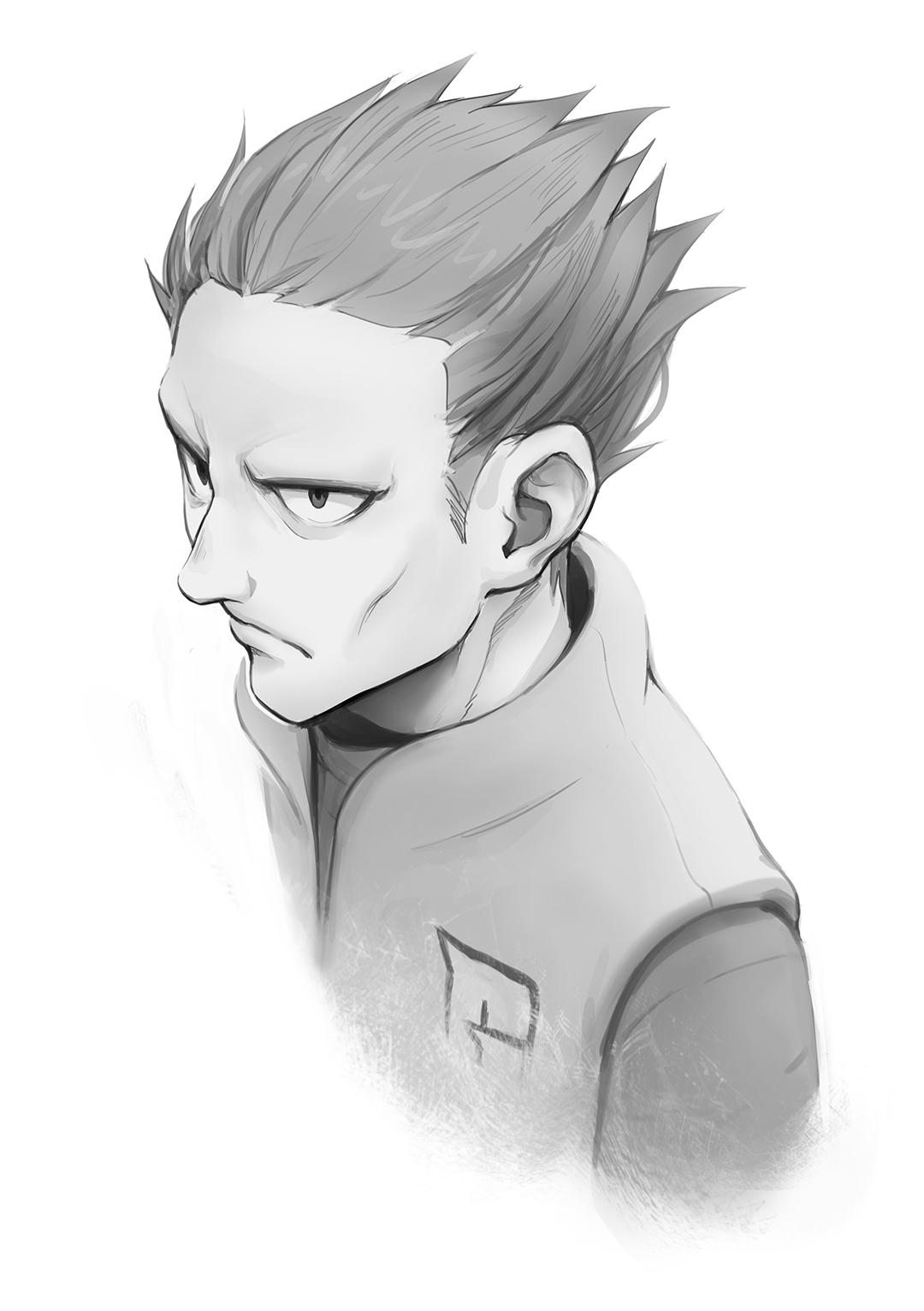 Pokémon-Zeichnung: Mr. Stoneface