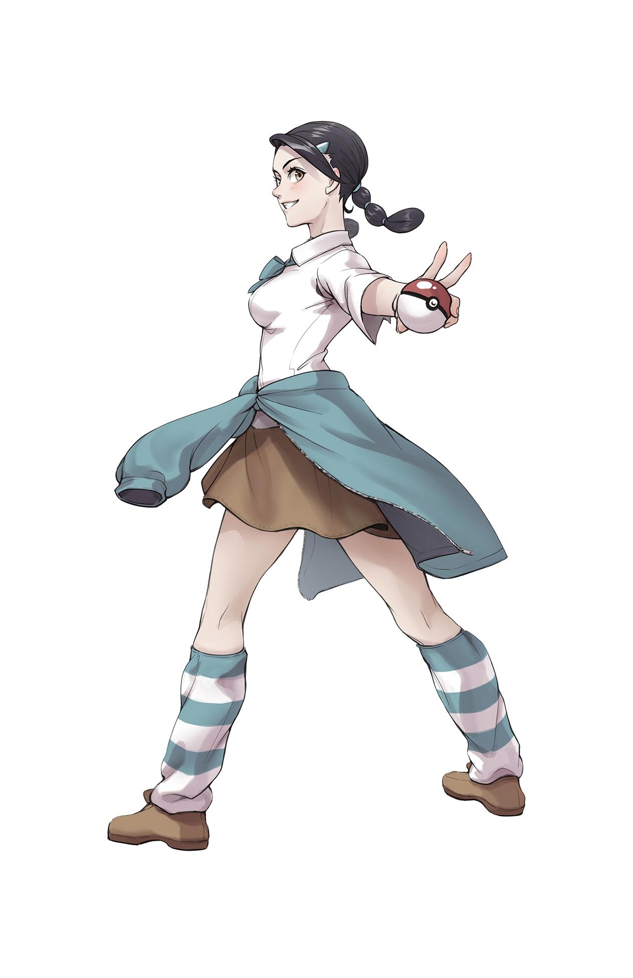 Pokémon-Zeichnung: Frida