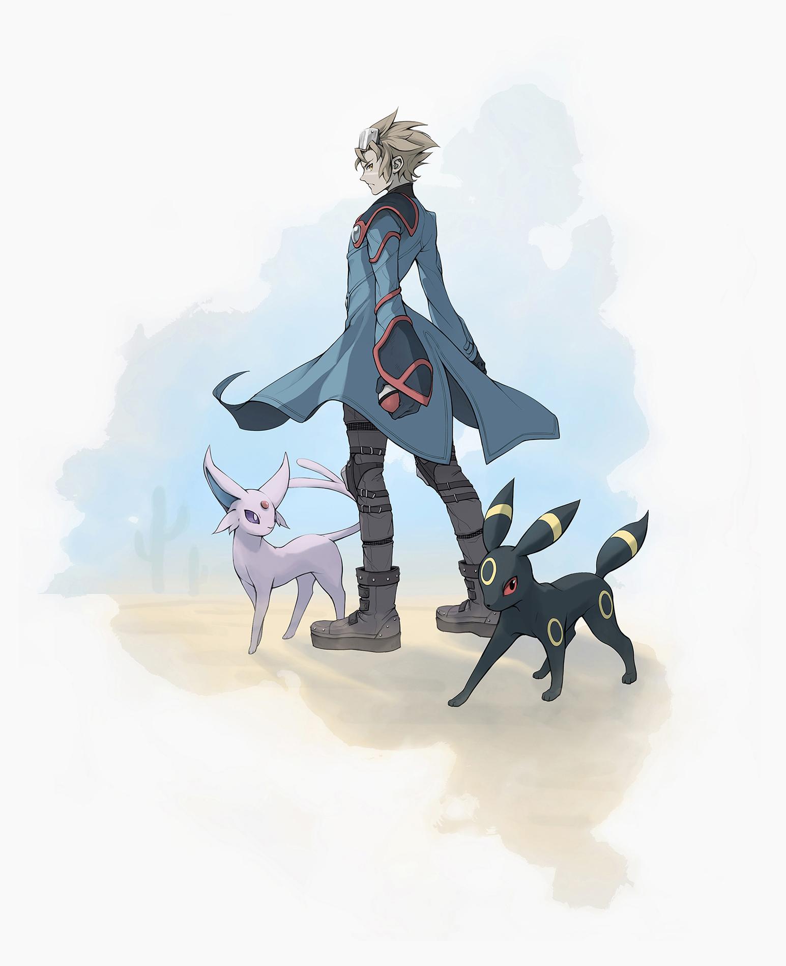 Pokémon-Zeichnung: Wes