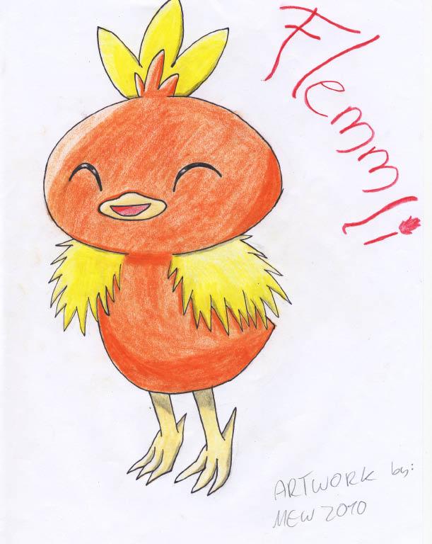 Pokémon-Zeichnung: flemmli -.-