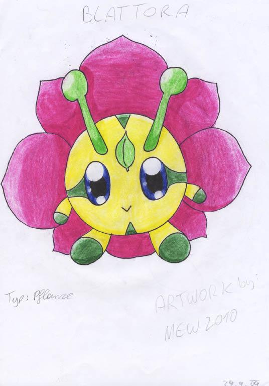 Pokémon-Zeichnung: blattora