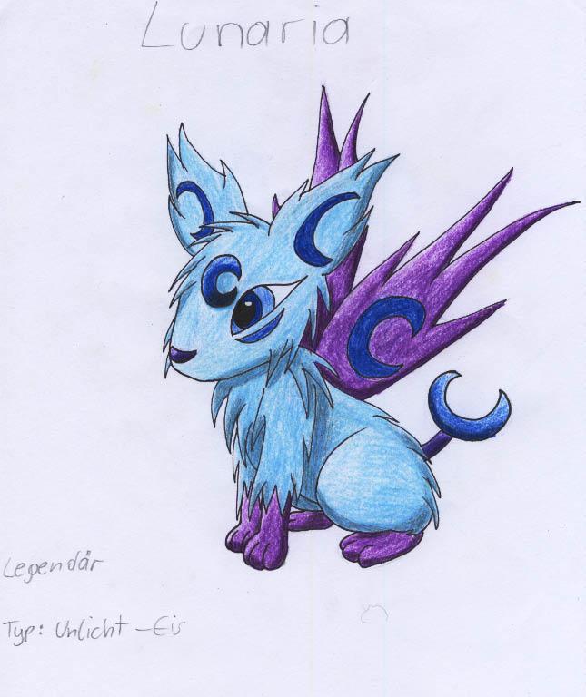 Pokémon-Zeichnung: lunaria