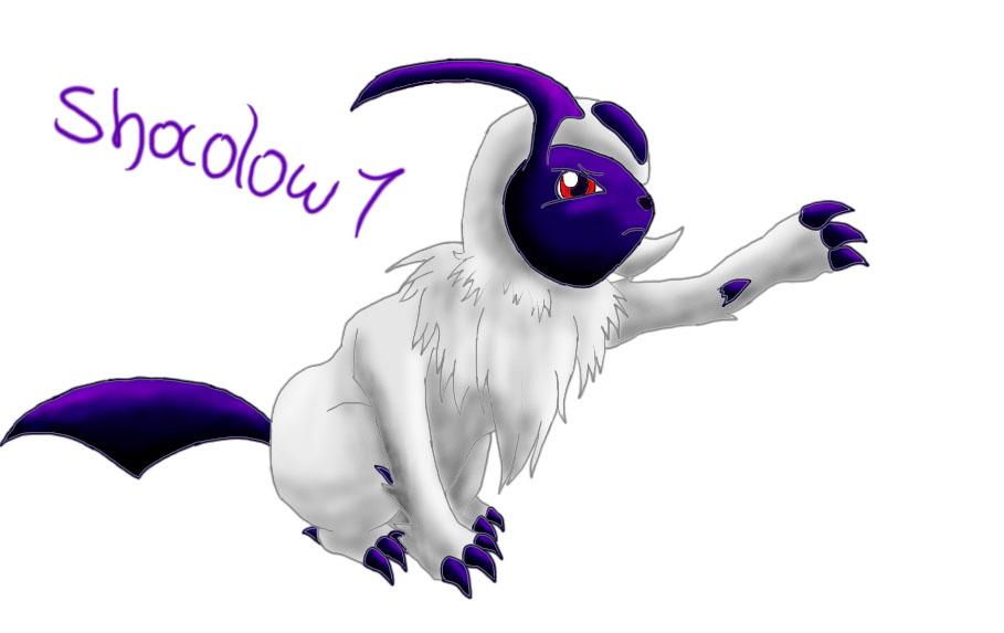 Pokémon-Zeichnung: absol