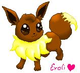 Pokémon-Zeichnung: evoli powershading