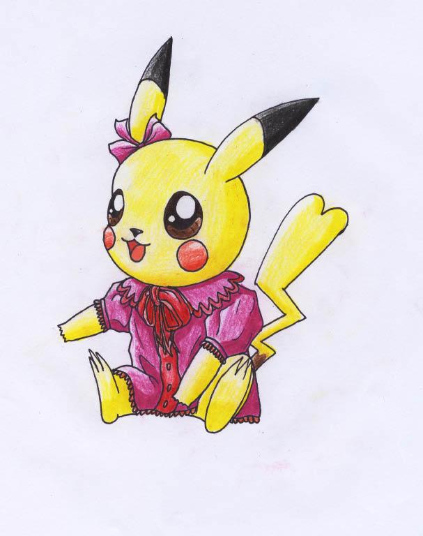 Pokémon-Zeichnung: pika