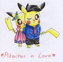 Pikachus in Love <3