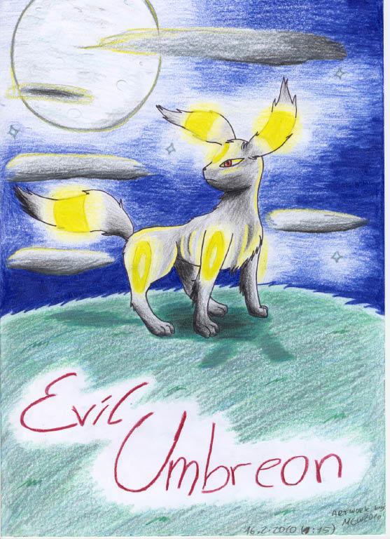 Pokémon-Zeichnung: Evil Umbreon