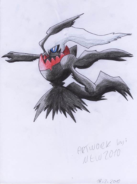 Pokémon-Zeichnung: darkrai
