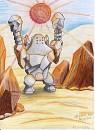 Heißer Kampf in der Wüste