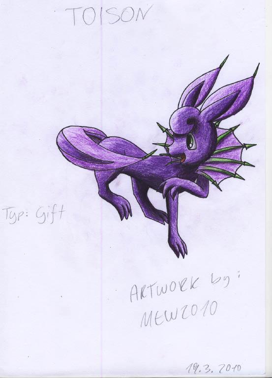 Pokémon-Zeichnung: Toison ^^