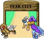 Pokémon-Pixelart: Teak City