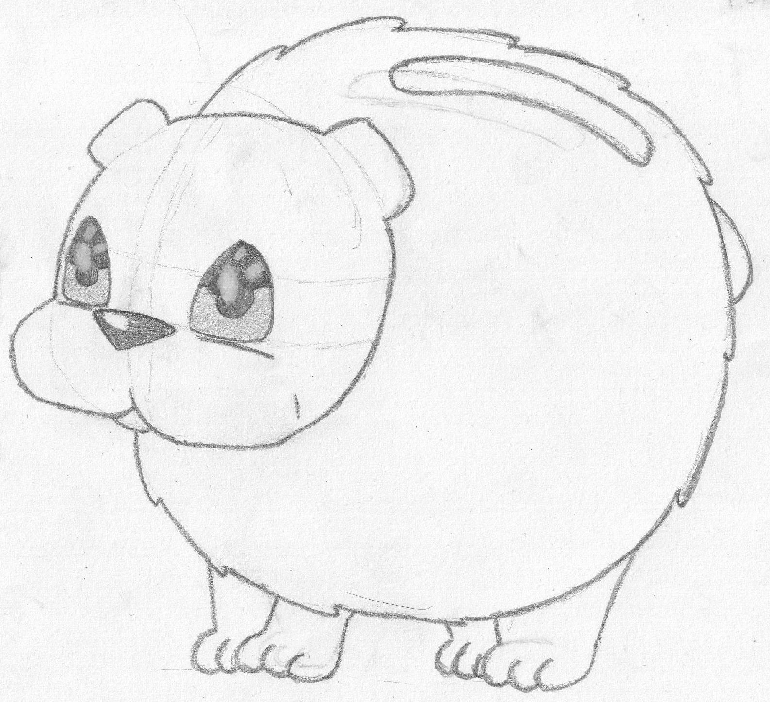 Pokémon-Zeichnung: Wasserstarter