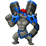 Pokémon-Sprite: Captain Supersteel
