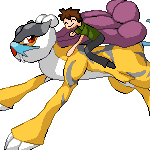 Pokémon-Pixelart: Legy and Raikou