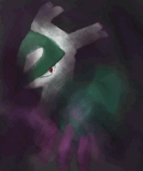 Pokémon-Zeichnung: Kosorevo's Dunkelklaue