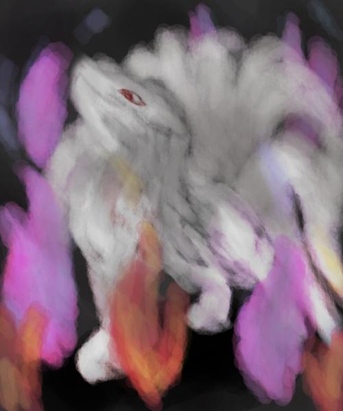Pokémon-Zeichnung: Caury