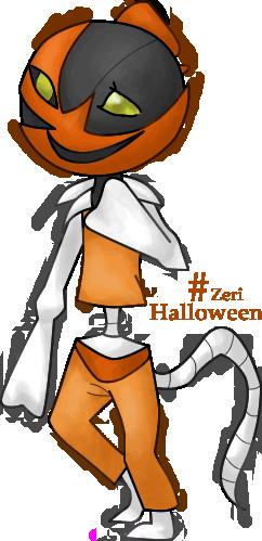 Pokémon-Zeichnung: Halloween Artwork
