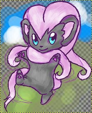 Pokémon-Zeichnung: Chirachiino