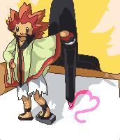 Pokémon-Pixelart: Chibi Adeku