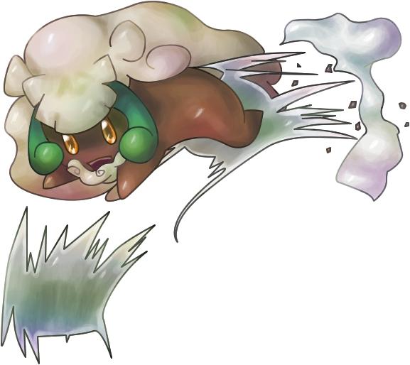 Pokémon-Zeichnung: Erufuun