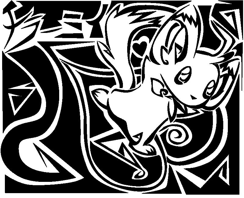 Pokémon-Zeichnung: Herzsurfen