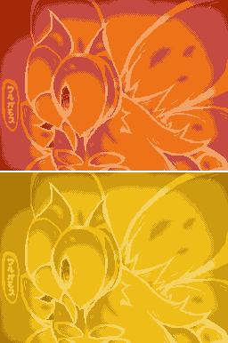 Pokémon-Pixelart: Urugamosu C-Gear Skin