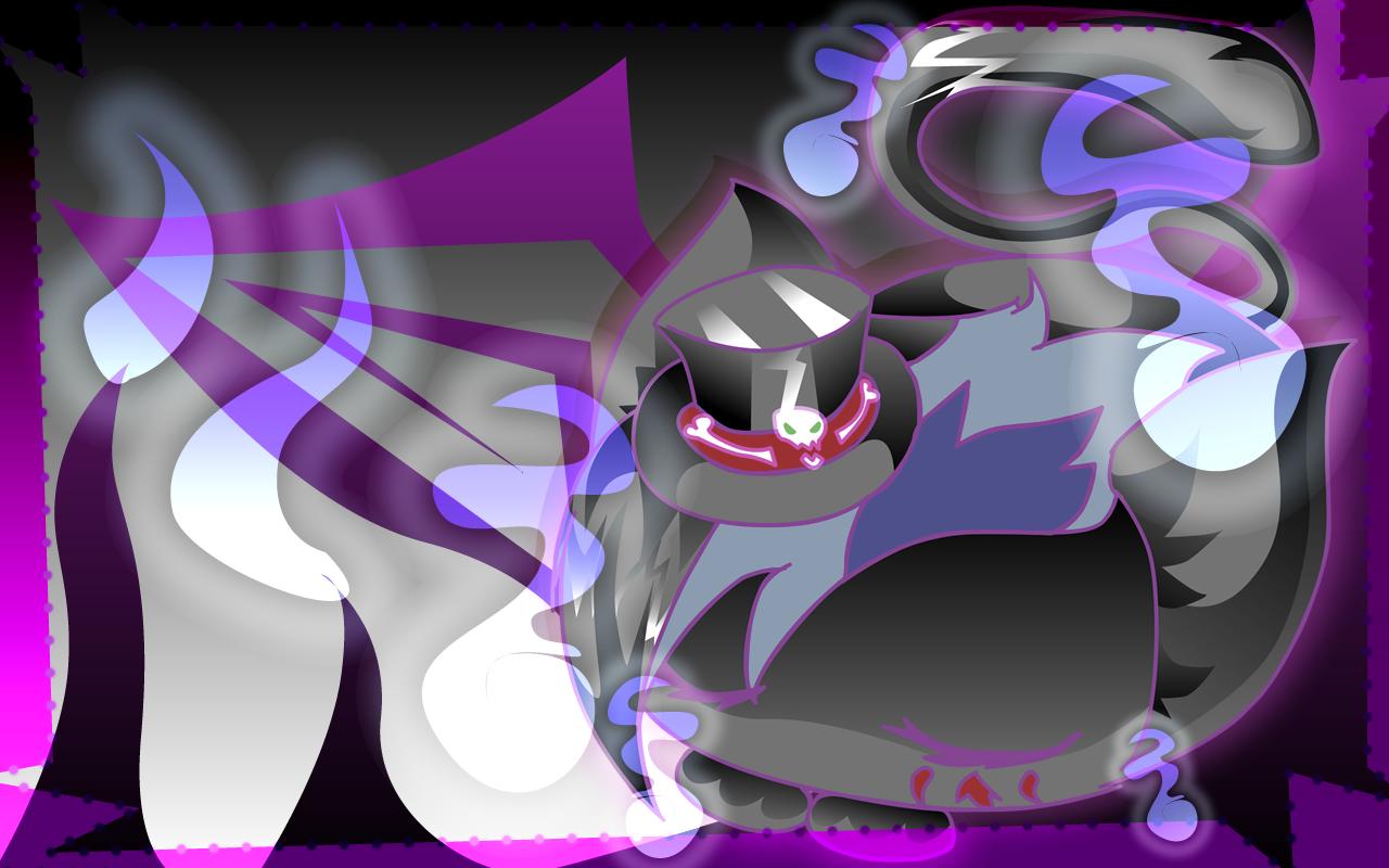 Pokémon-Zeichnung: Schlafender Tod..