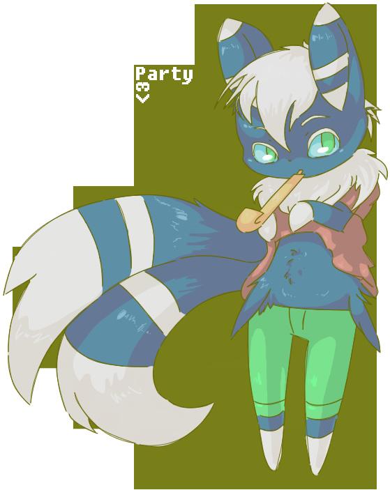 Pokémon-Zeichnung: Party