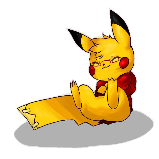 Pokémon-Zeichnung: Pika-me