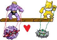 Pokémon-Sprite: Marionettenspieler