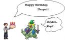 Happy Birthday, Despo!