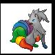 Newcolor - Vulnona mit Regenbogenschweif