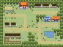 einsame Dorfgegend