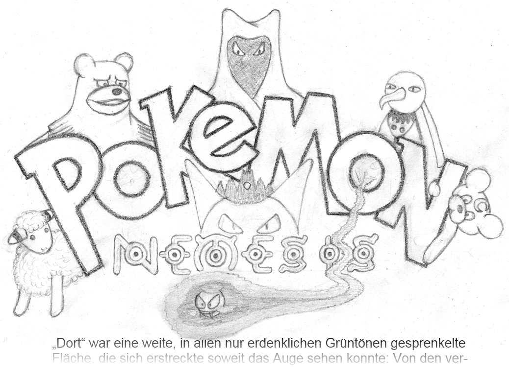 Pokémon-Zeichnung: Bilderrätsel III