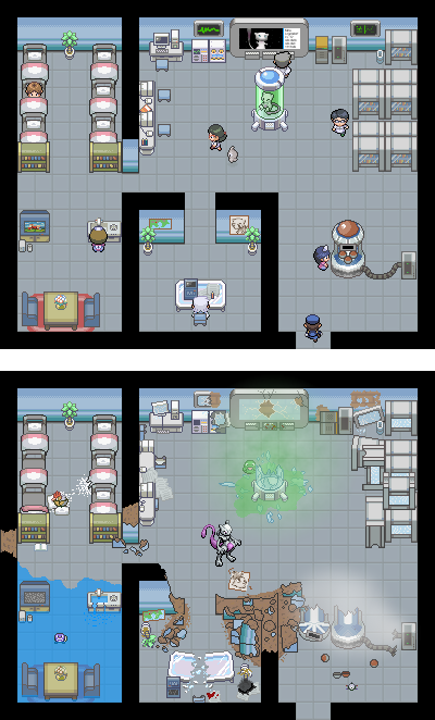 Pokémon-Map: Mewtus Beginning