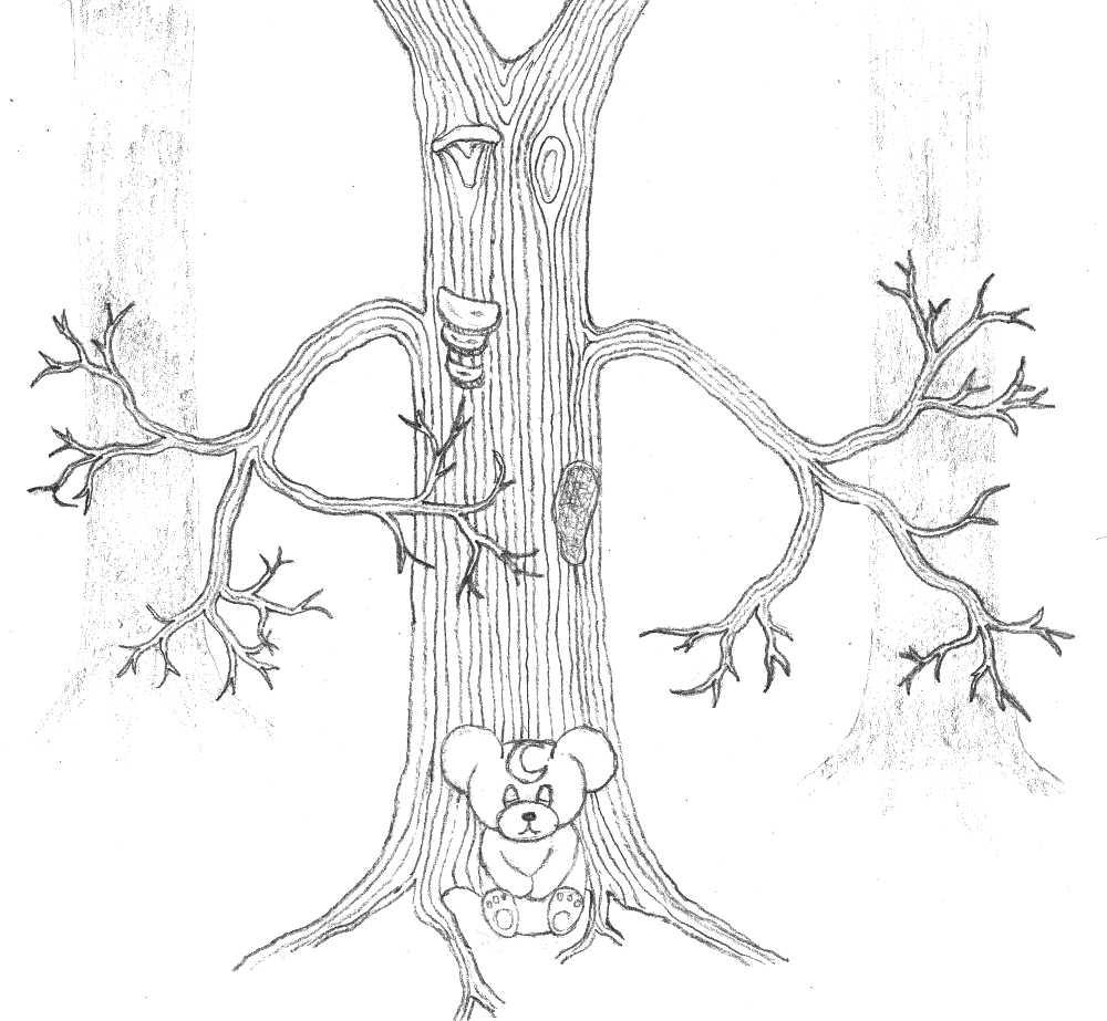 Pokémon-Zeichnung: 2. Szene - Im Wald