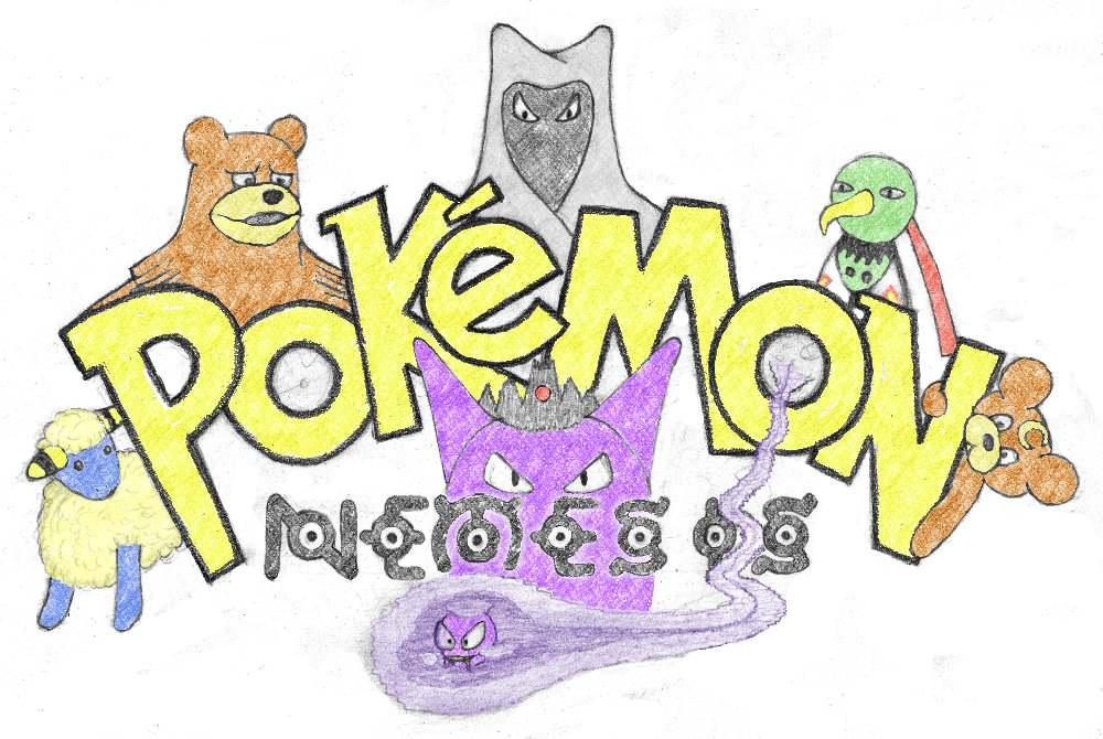 Pokémon-Zeichnung: Pokémon Nèmesis (bunt)