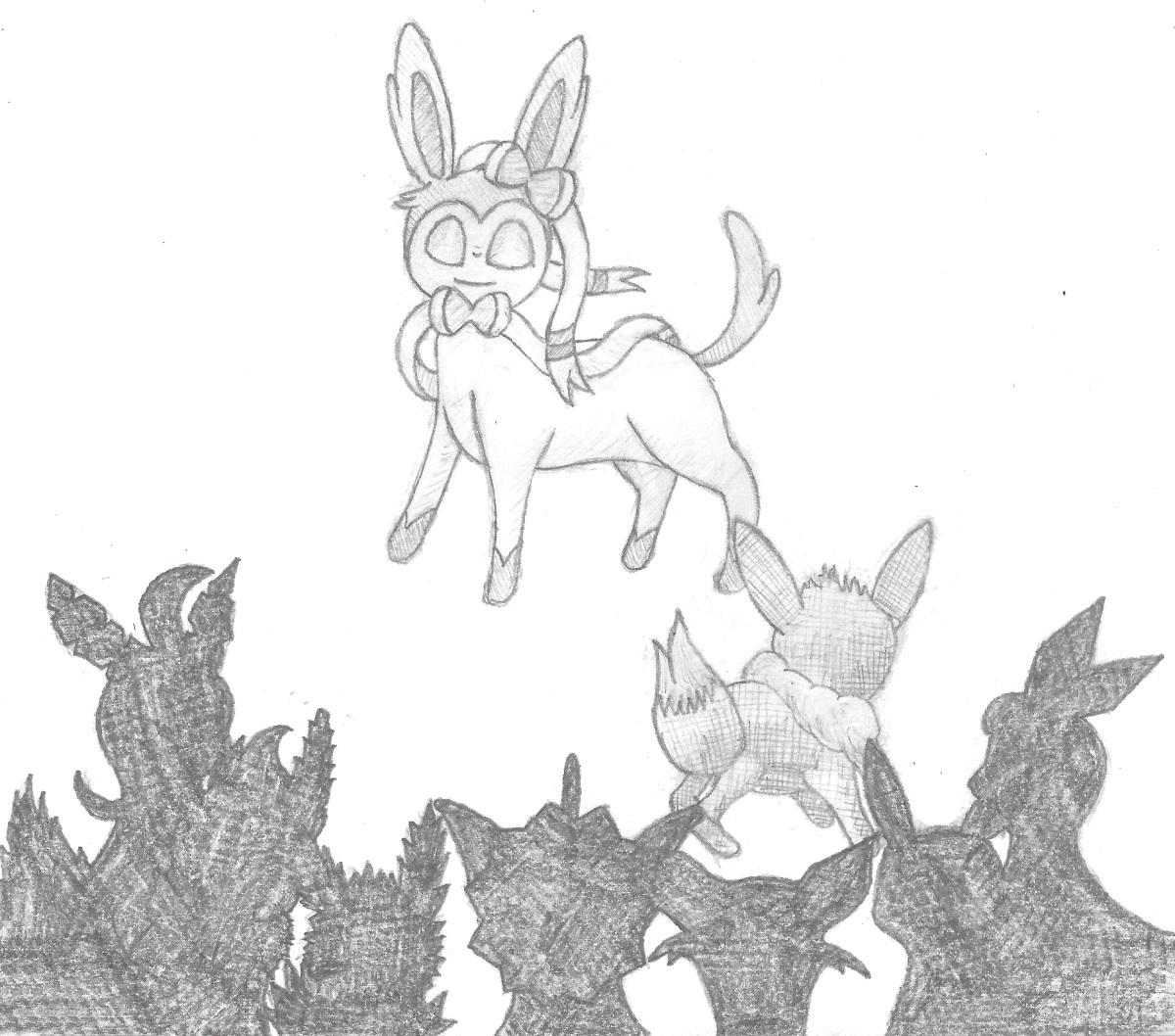 Pokémon-Zeichnung: Die Neue