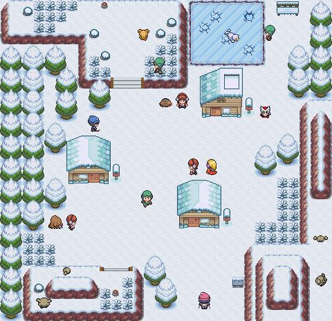 Pokémon-Map: Schnee halt =3