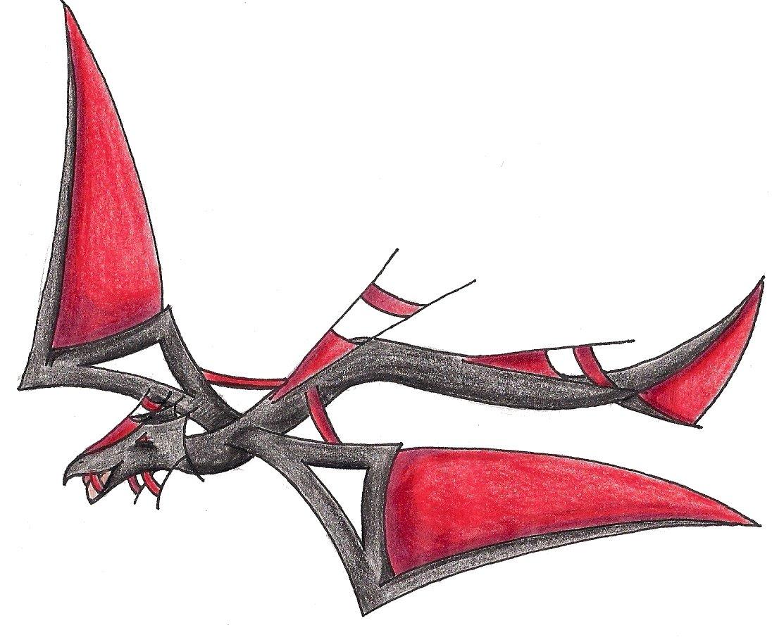 Pokémon-Zeichnung: Falx