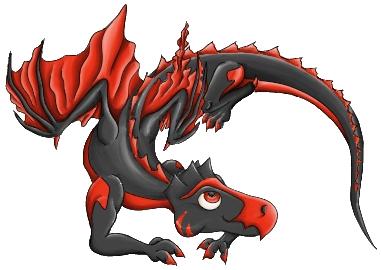 Pokémon-Zeichnung: Drachi für HorusHeart