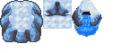 Eisbergtileset & Wasserquelle im Eisbergstil